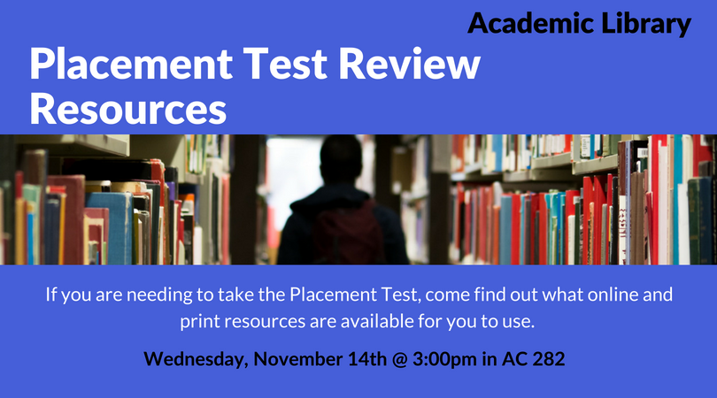 Placement Test Review Resources