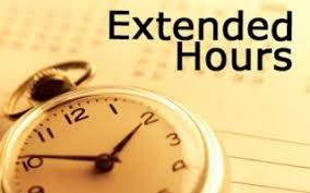 Extended Hours Begin for Finals