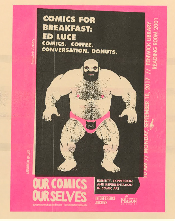 Our Comics, Ourselves: Comics for Breakfast with Ed Luce
