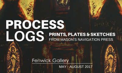 Process Logs: Prints, Plates, and Sketches from Navigation Press at Mason