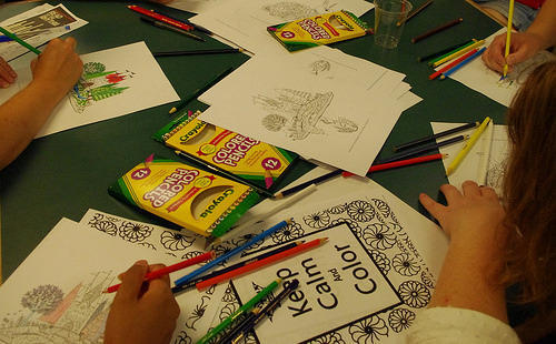 Coloring Party for Adults
