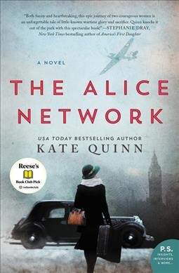 "Blue and Yellow Lines Book Club: ""The Alice Network"""