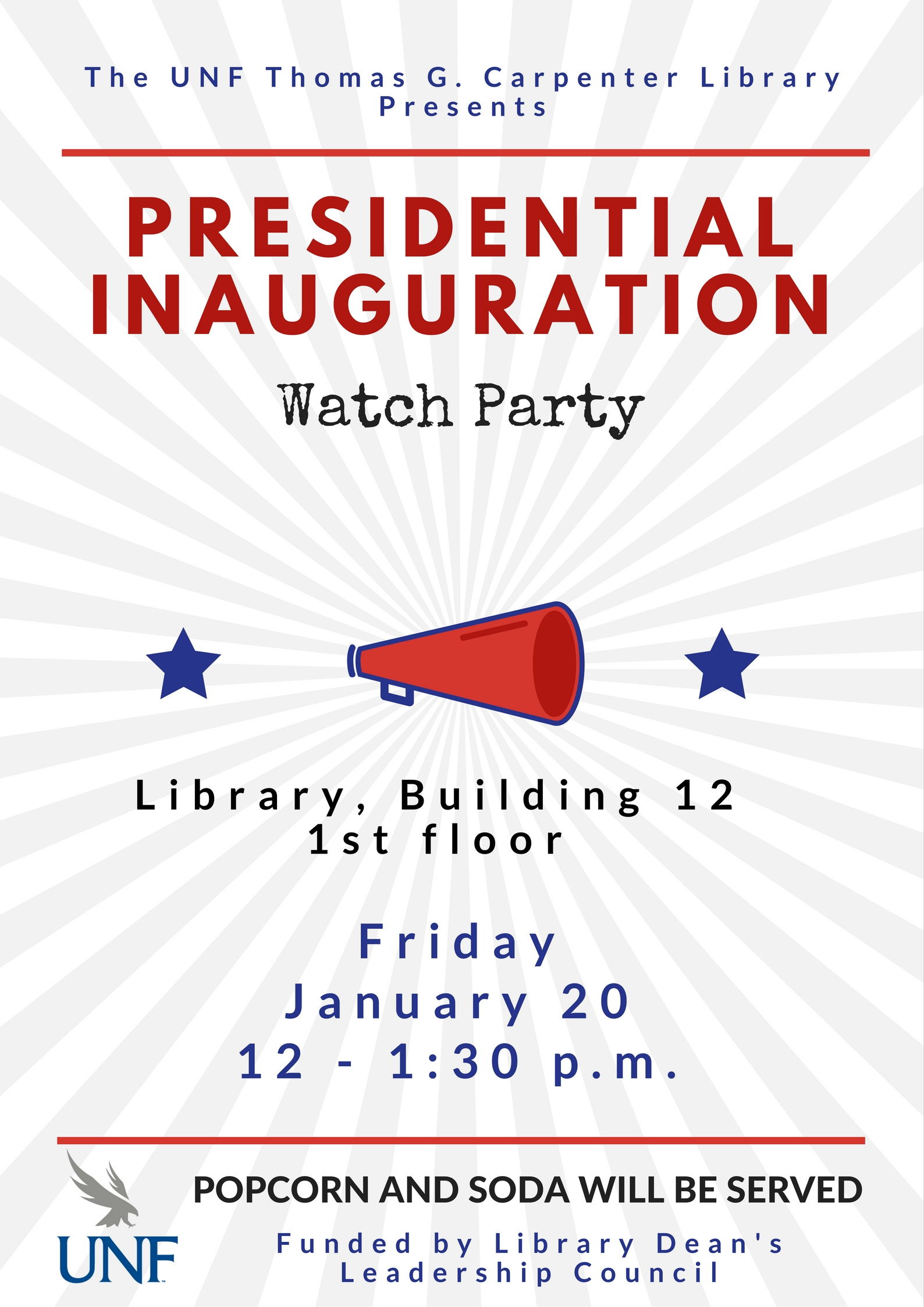 Presidential Inauguration Watch Party