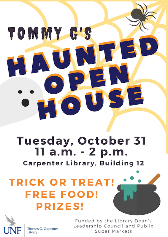 Tommy G's Haunted Open House