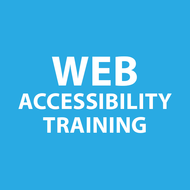 Web Accessibility Training for Drupal Web Publishers