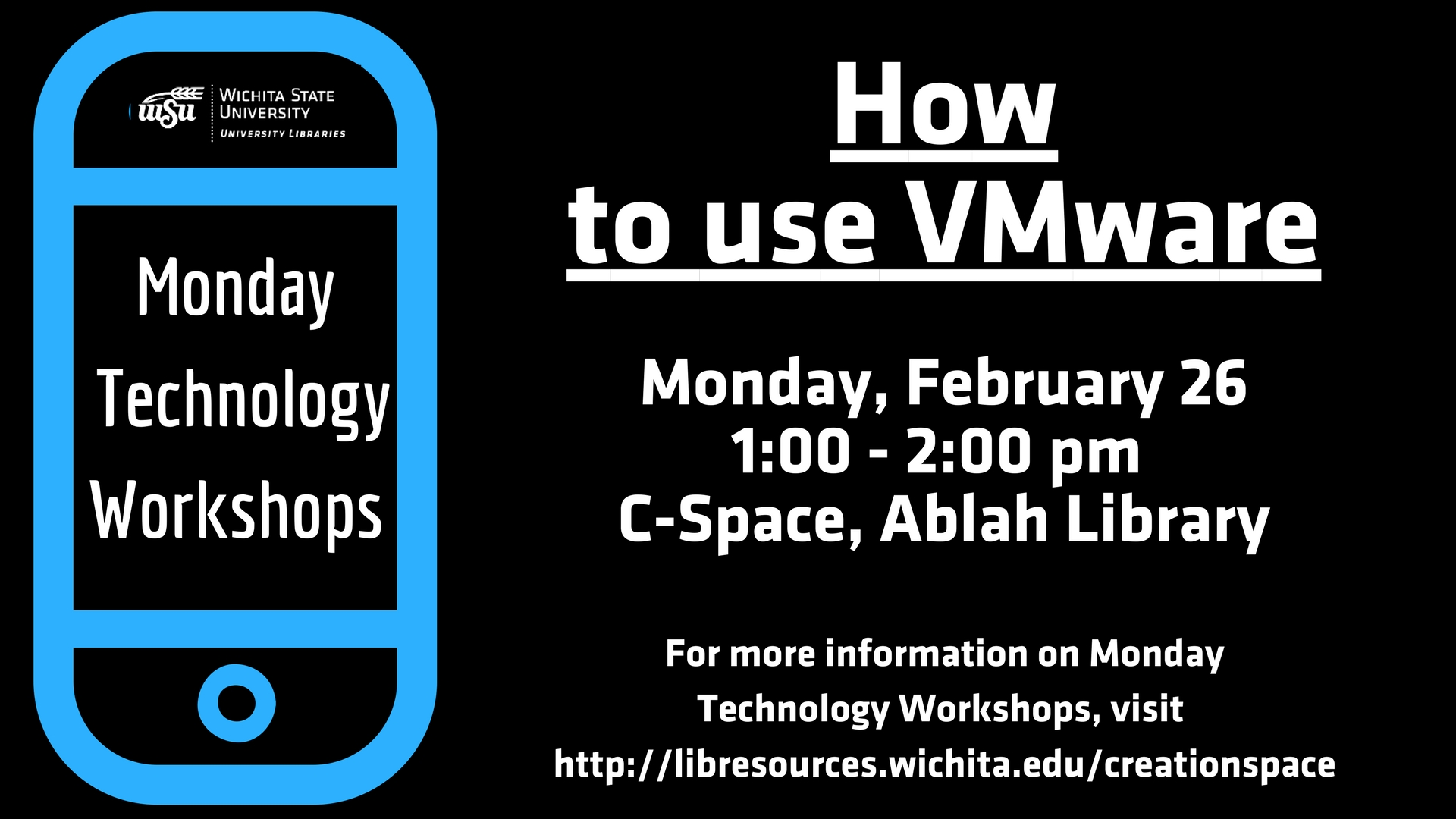 Monday Technology Workshop - VMware