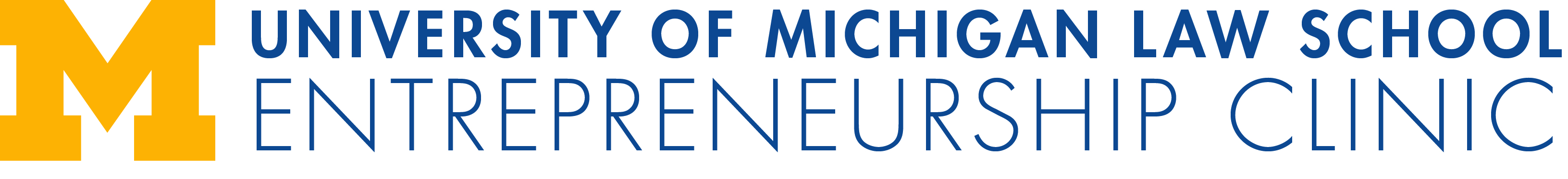 University of Michigan Entrepreneurship Clinic LibCal