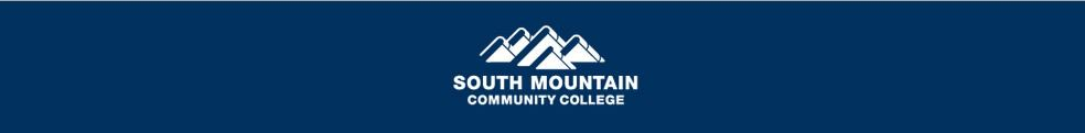 South Mountain Community College LibCal
