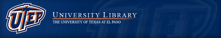 University of Texas El Paso LibCal