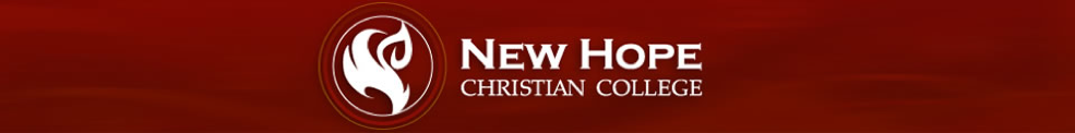 New Hope Christian College LibCal