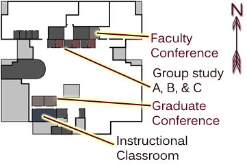 Faculty and Graduate Study Rooms