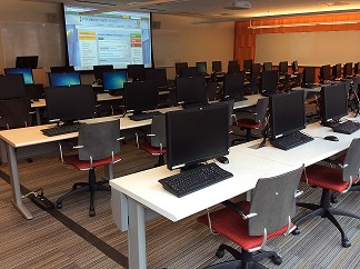 Photo of Library Instruction Lab