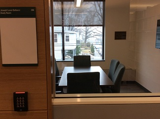 Picture of the Joseph Louis Gallucci study room - HA206