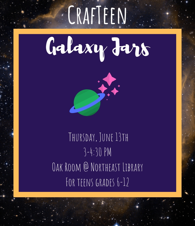 CrafTeen: Galaxy Jars