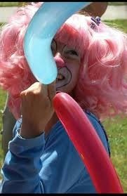 Pink Peppermint Balloon Twister
