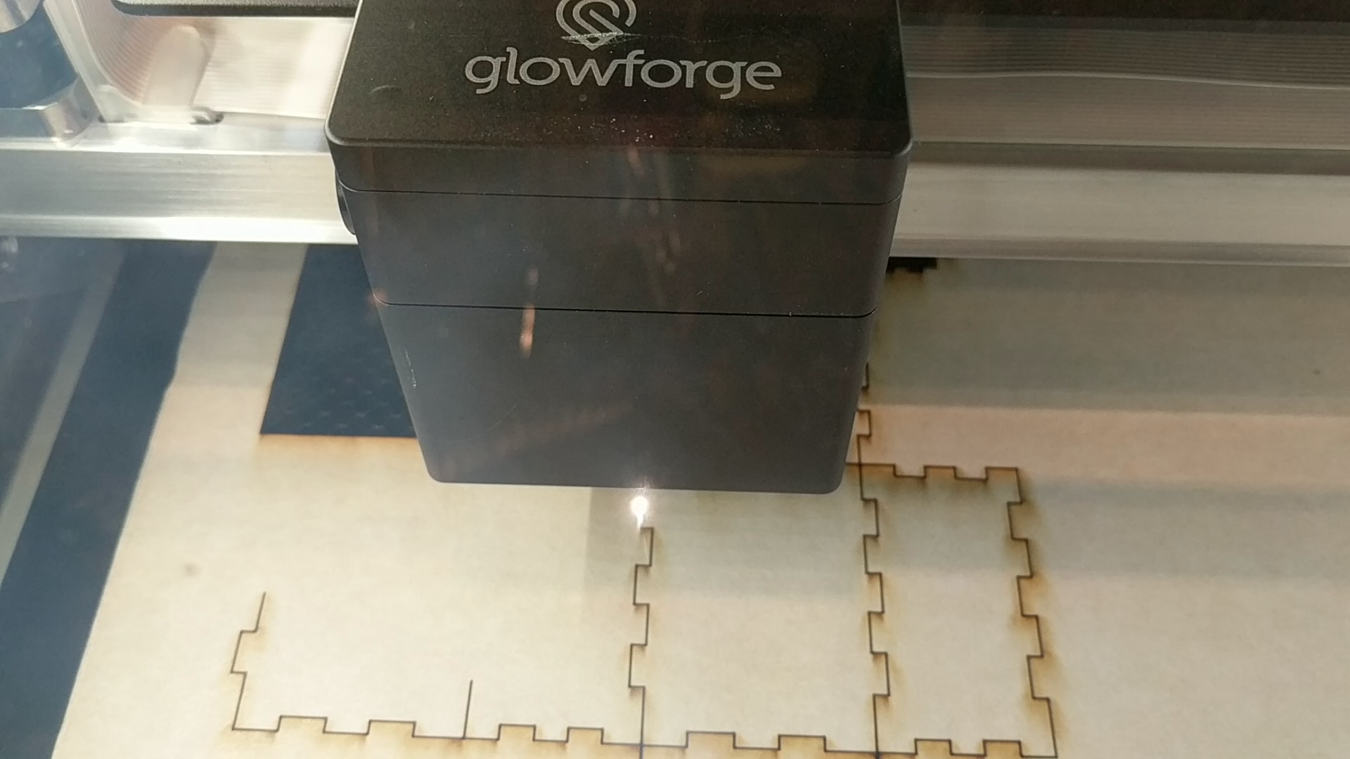 Glowforge and 3D Printing demostrations