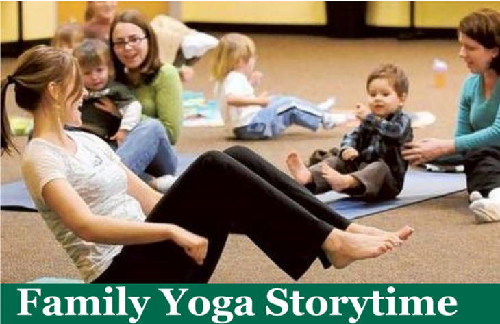 Family Yoga Storytime @ Pleasure Island