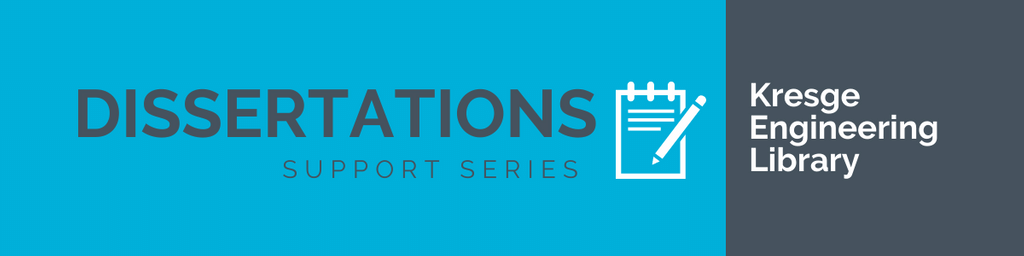 Dissertations Support Series: Planning and Writing the Dissertation