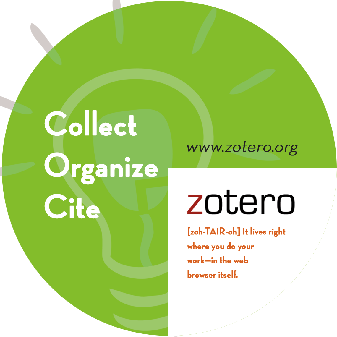 Zotero online helpdesk/introduction
