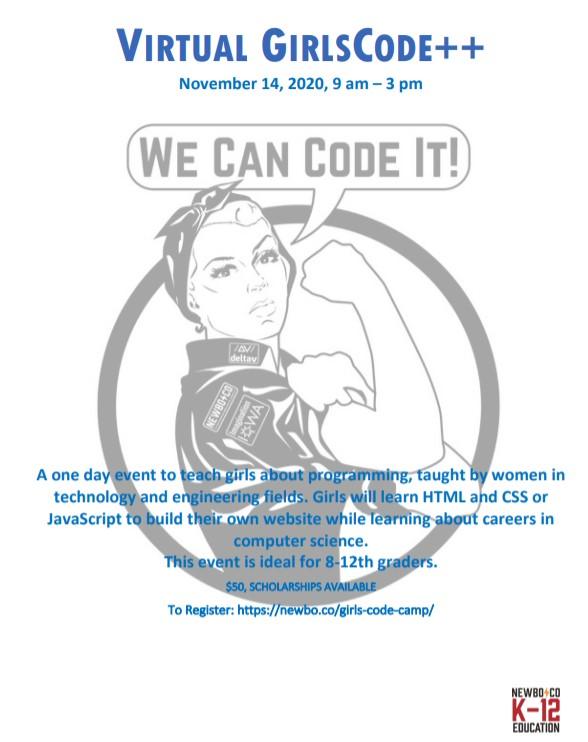 Virtual GirlsCode ++