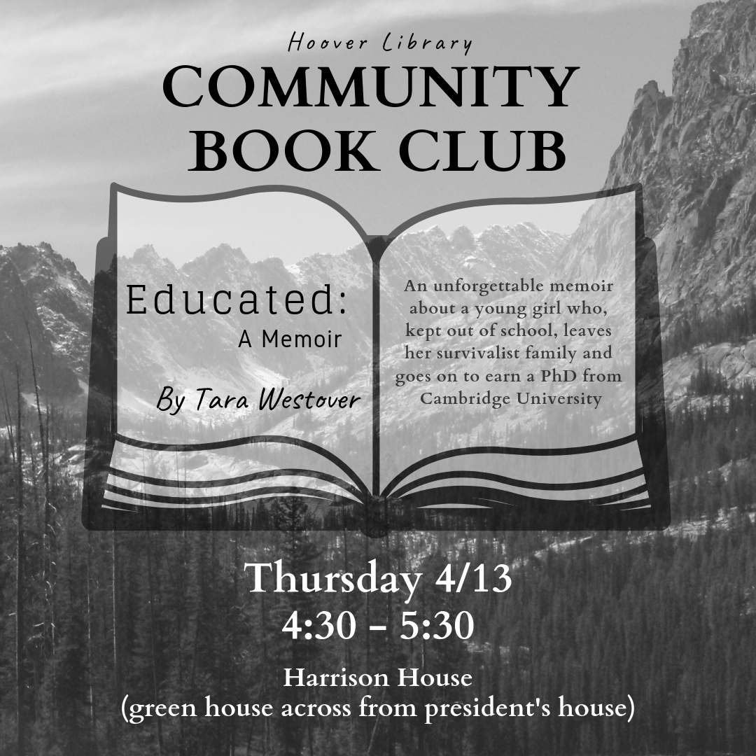 Community Book Club: Educated