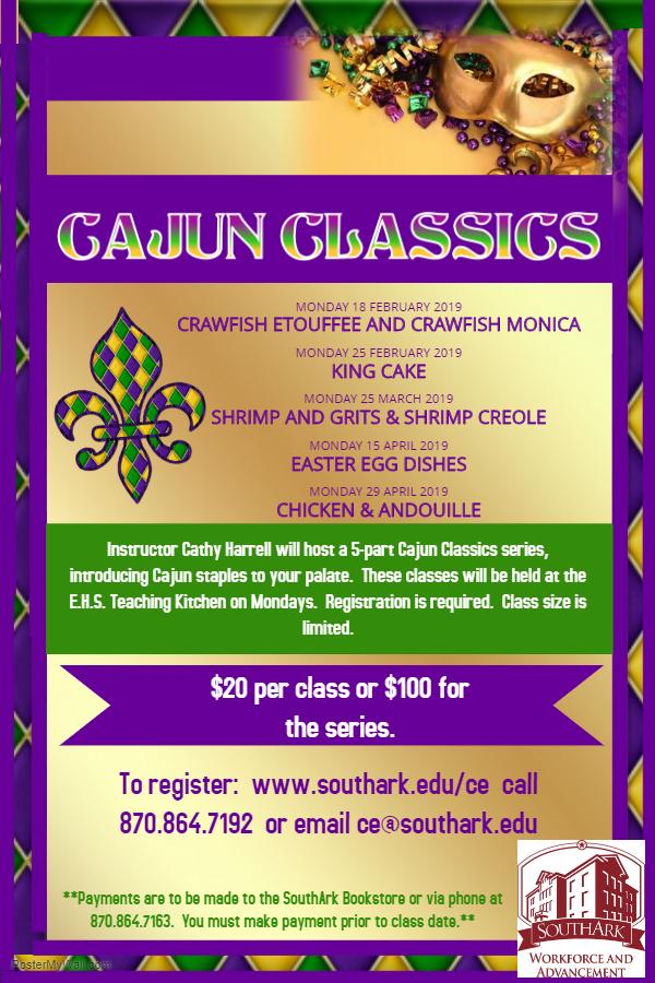 Cajun Classics: Crawfish Etouffee and Crawfish Monica