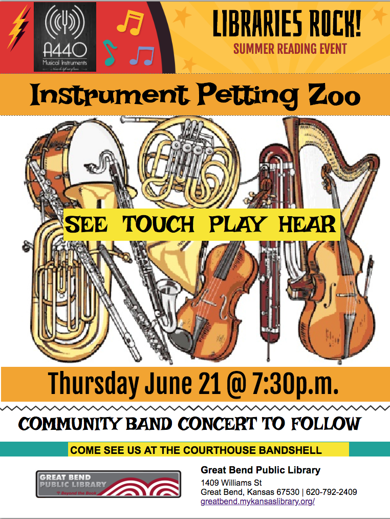 Instrument Zoo/Community Concert