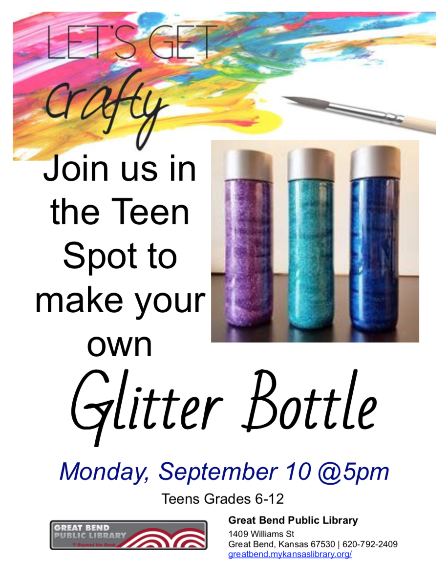 Make your own Glitter Bottle!