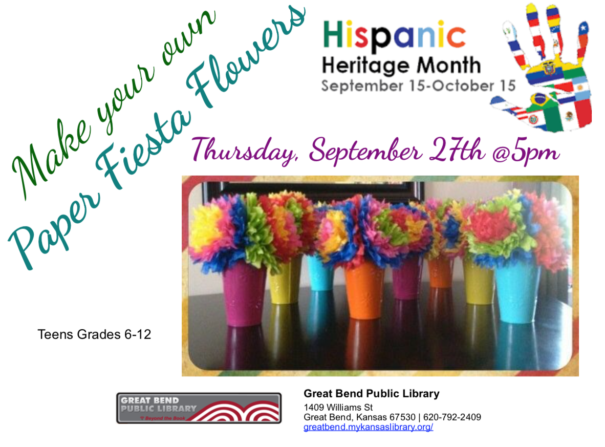 Hispanic Heritage Month Celebration!