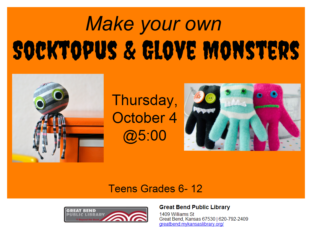 Soctopus & Glove Monsters