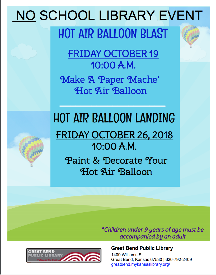 Hot Air Balloon Blast