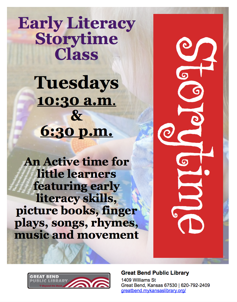 Early Literacy Storytime Class