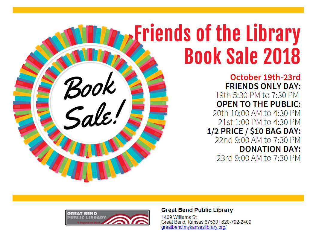 Friends Members  Only Book Sale