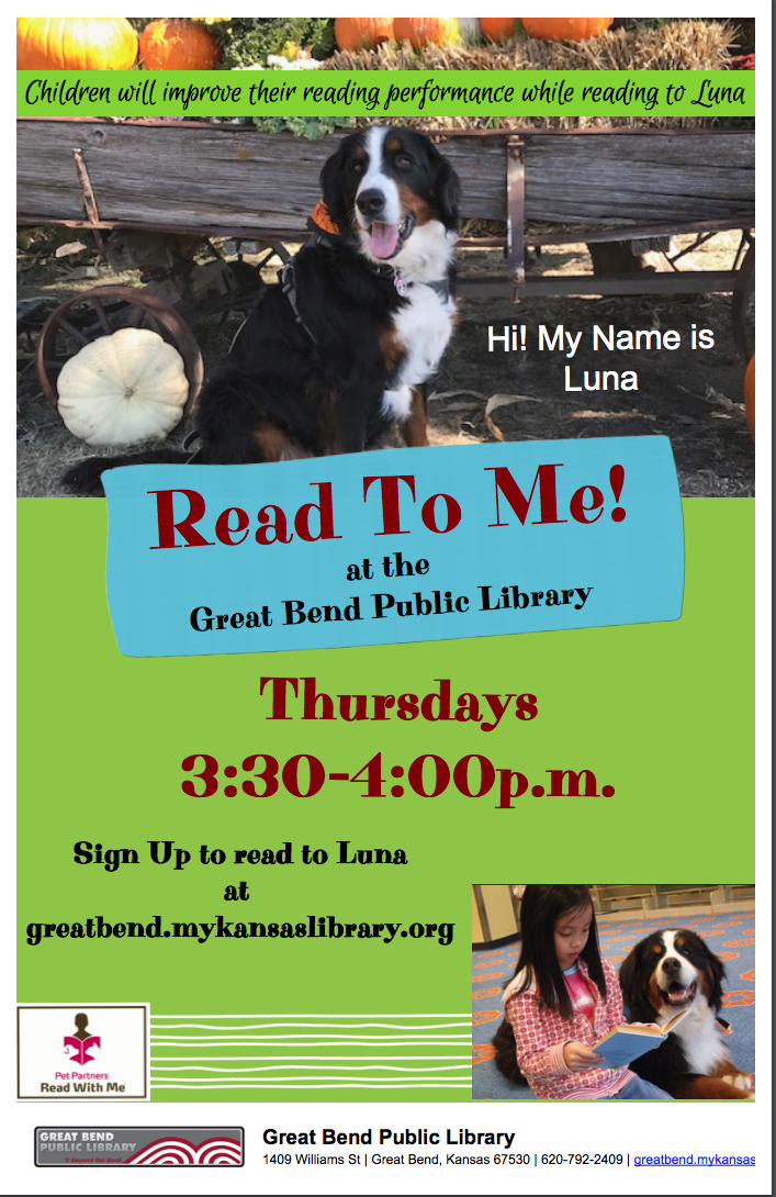 Read To Luna/ Pet Partners