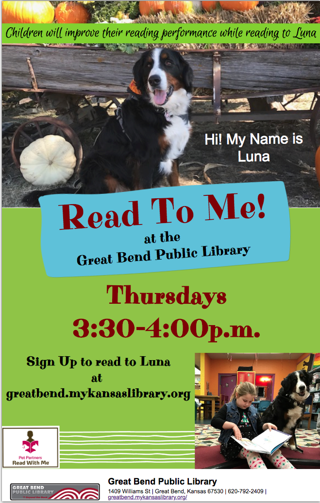 Pet Partner Read to Me ( Luna)