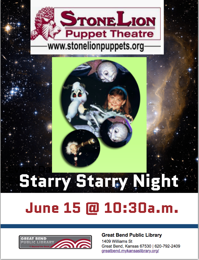 Starry Starry Night Puppets