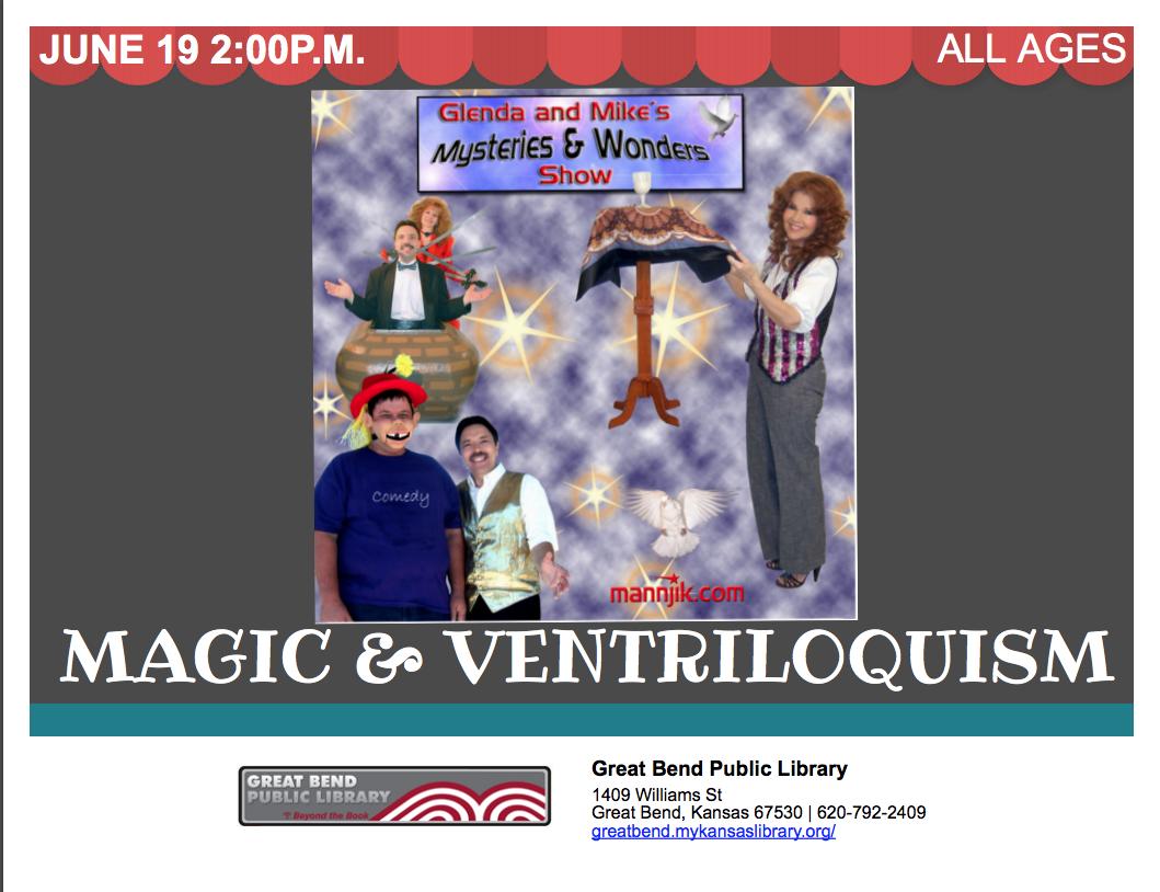 Magic & Ventriloquism Show