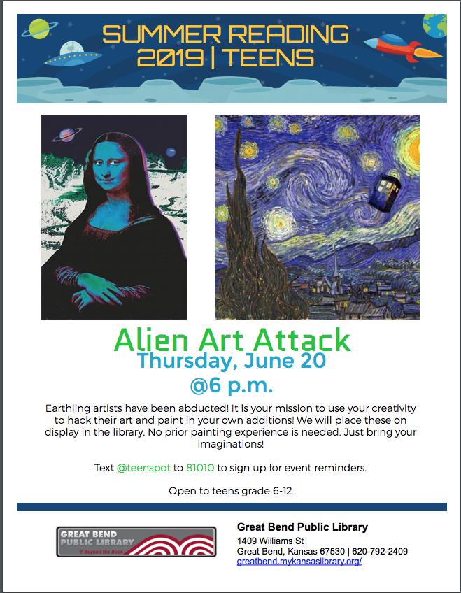 Alien Art Attack