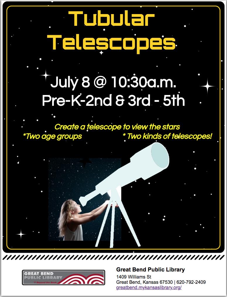 Tiny Tubular Telescopes