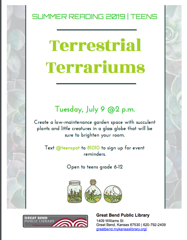 Terrestrial Terrariums