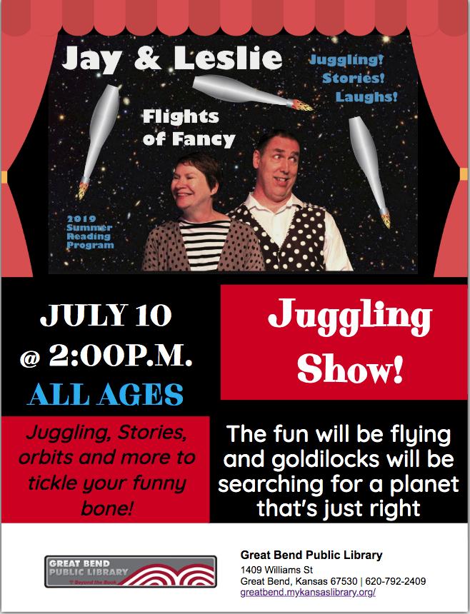Flights Of Fancy Juggling Show