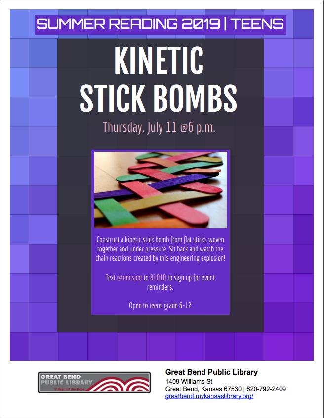 Kinetic Stick Bomb