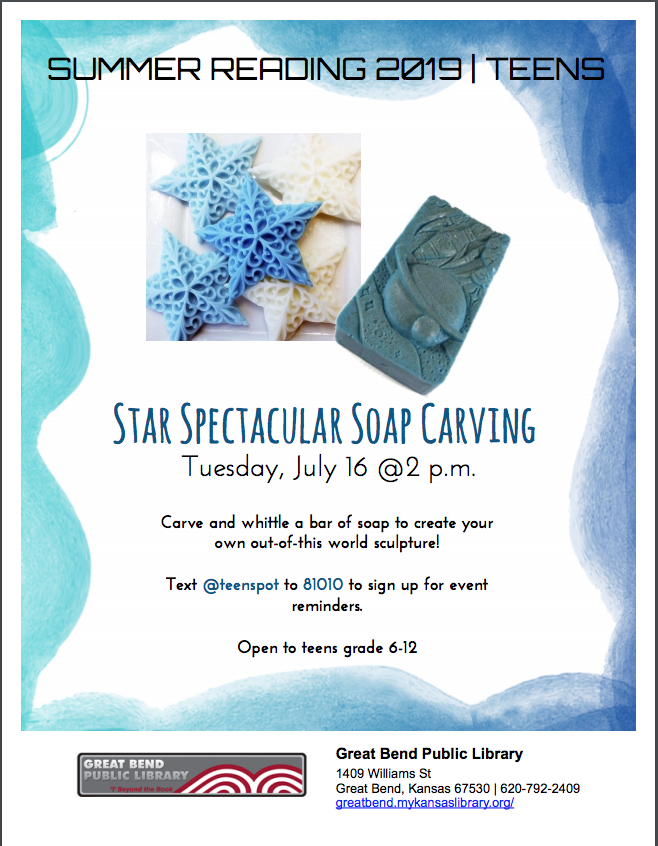 Star Spectacular Soap Carving