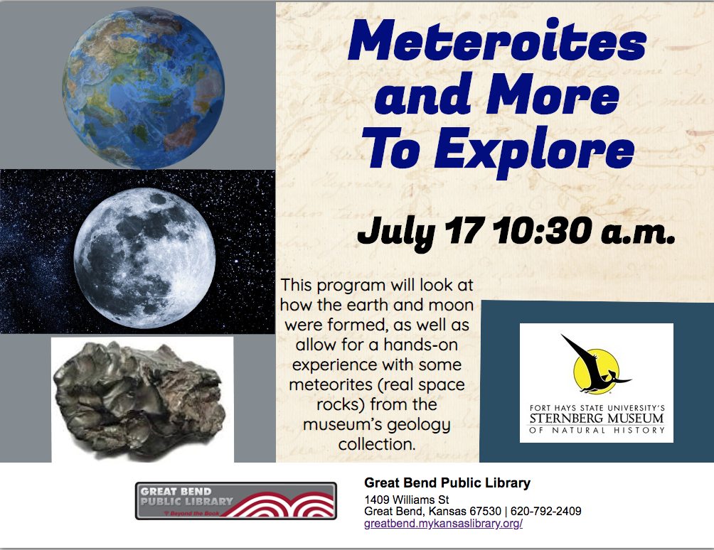 Meteorites and More To Explore