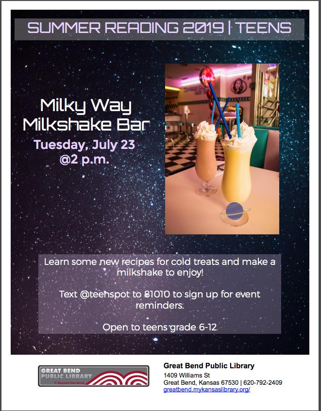 Milky Way Milkshake Bar