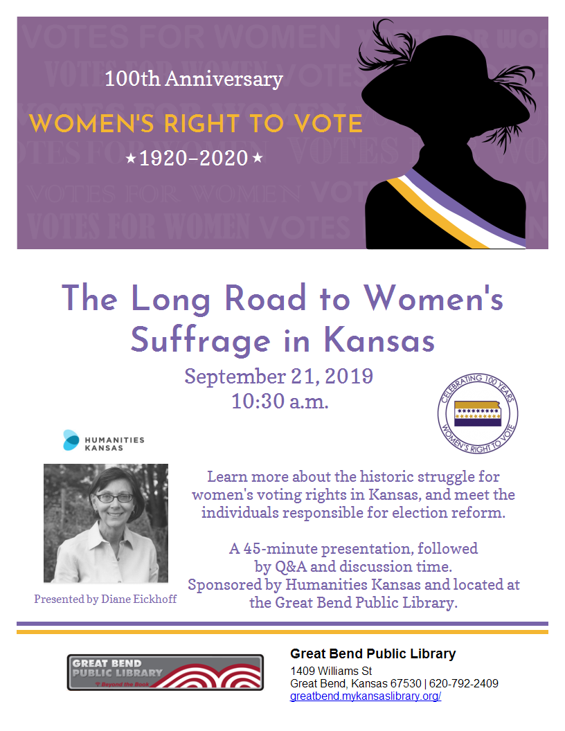 The Long Road to Women's Suffrage in Kansas
