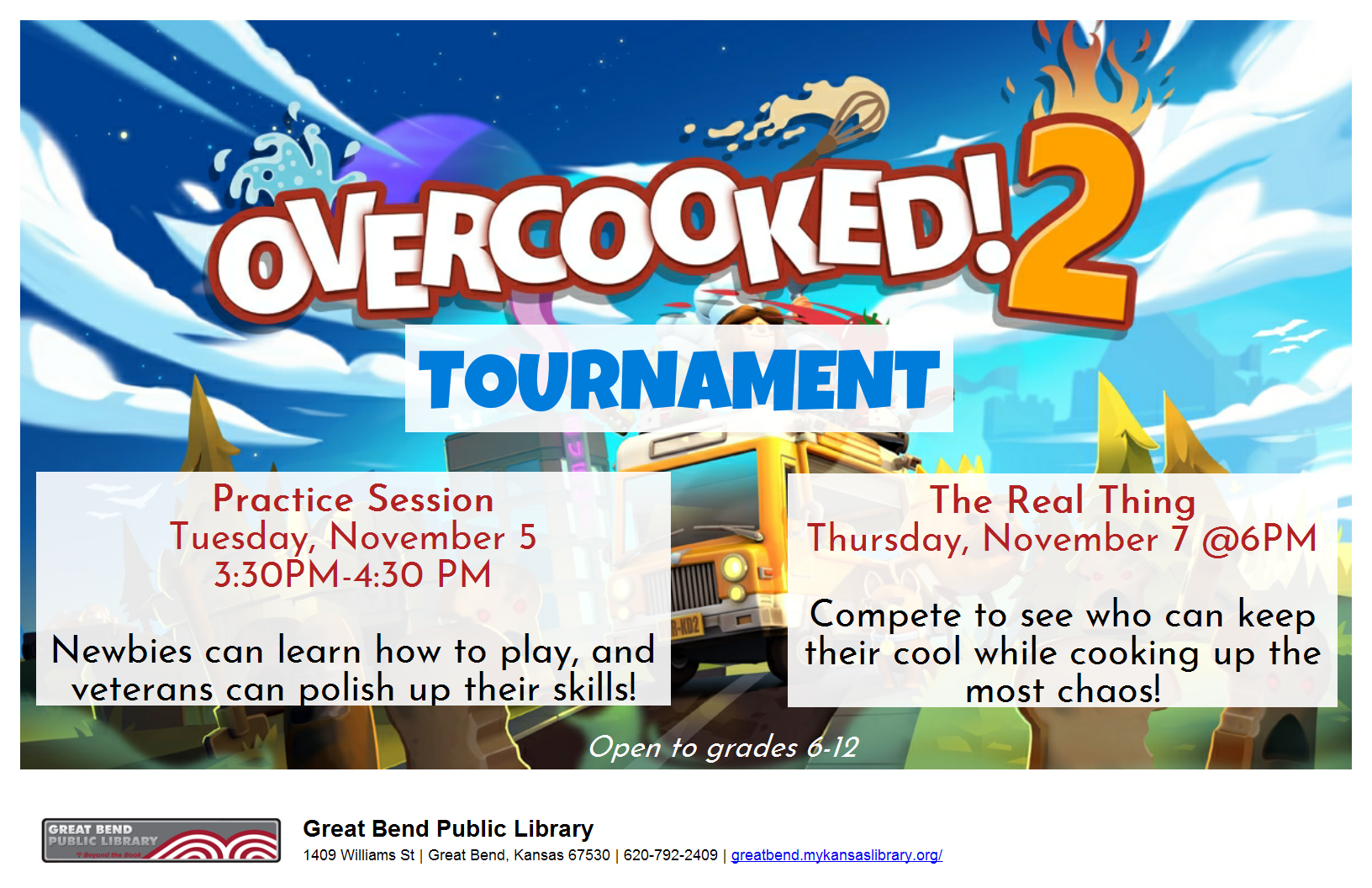 Overcooked! 2 Tournament