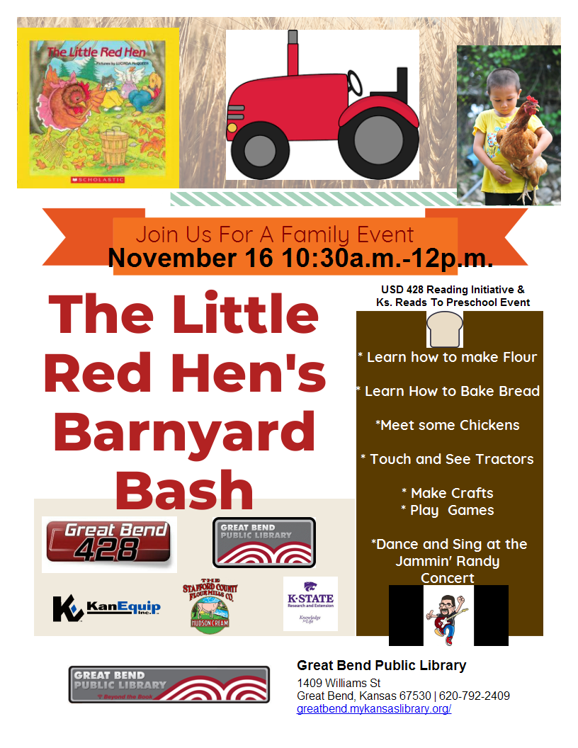 Little Red Hen Barnyard Bash