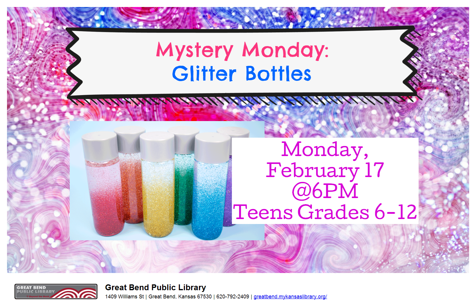 Mystery Monday: Glitter Bottles