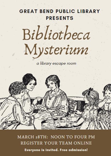 Bibliotheca Mysterium: A Library Escape Room